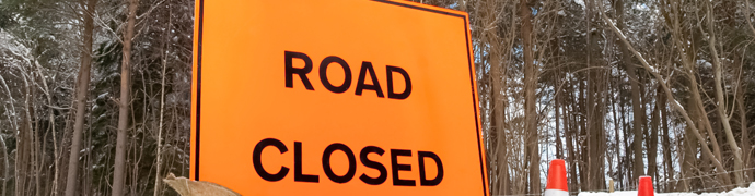 North Broad Street will be closed from April 27th at 6:00 AM until 7:00 PM on April 29th