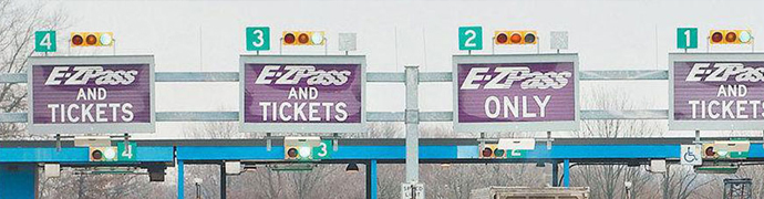 PA turnpike tolls increased 6% on January 5, 2020